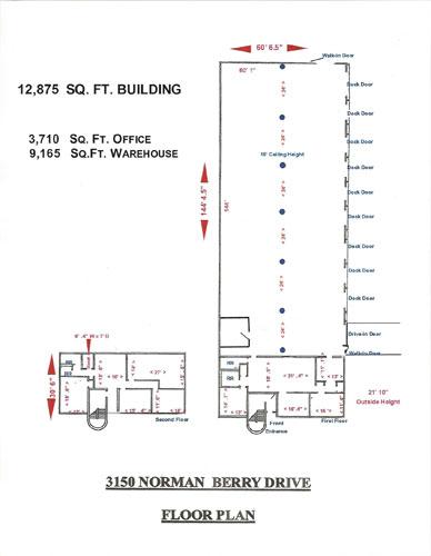 3150 Floor plan