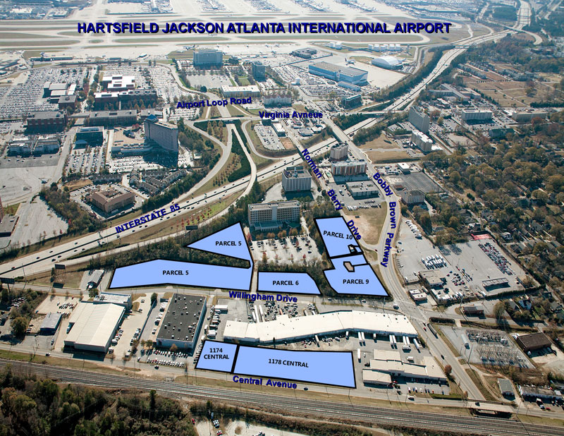 Parking Lot Or Land Space For Lease Near Atlanta Airport Atlanta
