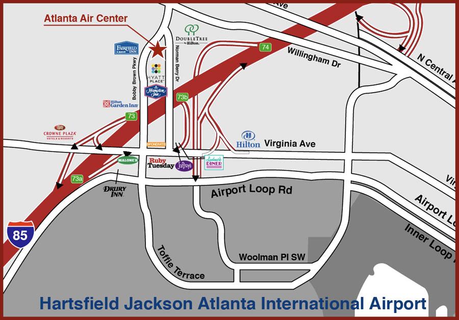 Atlanta Air Center Locations