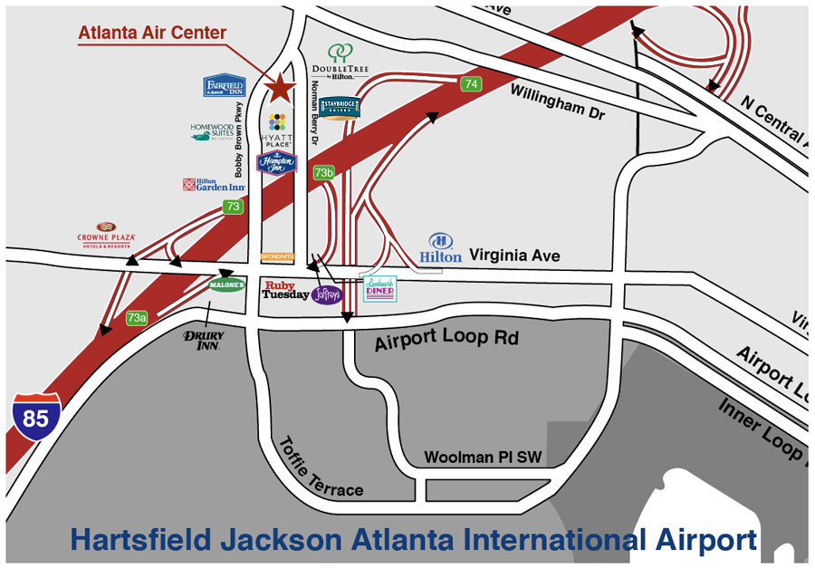 Space for Lease near Atlanta Airport